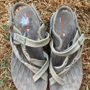 Merrell Shoes - Merrell sandal sz 6 grey.